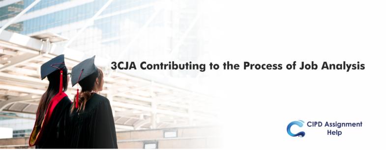 3CJA Contributing to the Process of Job Analysis